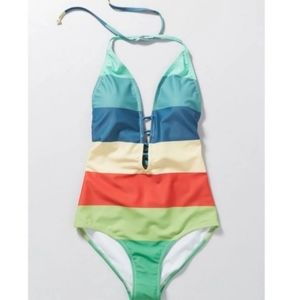 ModCloth rétro rainbow swimsuit
